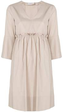 Barba midi V-neck dress