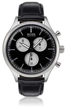 BOSS Hugo Companion, Stainless Steel Chronograph Watch 1513543 One Size Assorted-Pre-Pack