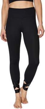 Betsey Johnson BANDED CUTOUT ANKLE LEGGING