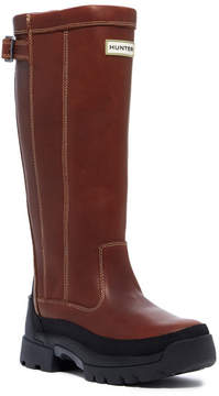 Hunter Balmoral Waterproof Leather Boot