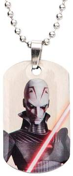 Star Wars Men's Boys' Inquisitor Stainless Steel Dog Tag (18)