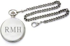 Accessories Engravable Stainless Steel Pocket Watch