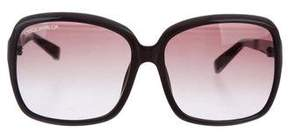 DSQUARED2 Tinted Oversize Sunglasses