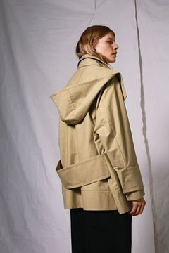 Boutique Hooded parka jacket