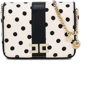 Elisabetta Franchi La Mia Bambina polka dotted shoulder bag