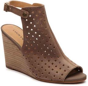 Lucky Brand Women's Regina Wedge Sandal