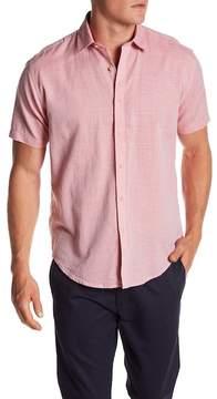 James Campbell Ellerbe Woven Short Sleeve Shirt