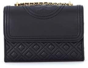 Tory Burch Fleming Small Black Leather Shoulder Bag - NERO - STYLE