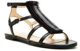 Katy Perry Alanna Leather Gladiator Sandals
