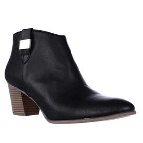 Alfani A35 Leoh Casual Ankle Booties, Black.