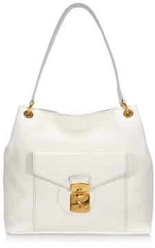 Miu Miu Talco Leather Hobo Bag
