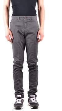 Harmont & Blaine Men's Grey Cotton Pants.