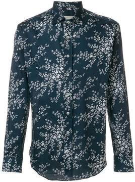 Etro leaves printed loose shirt