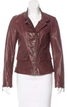 Tod's Zip-Up Leather Jacket