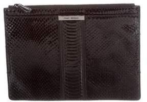 Stuart Weitzman Embossed Leather Clutch