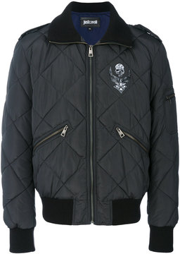 Just Cavalli quilted bomber jacket