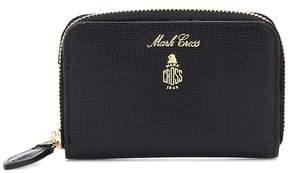 Mark Cross Zipped leather wallet