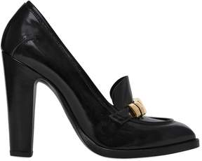 Alexander McQueen 110mm Brushed Leather Pumps
