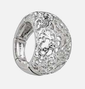 Avenue Filigree Dome Stretch Ring
