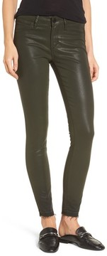Articles of Society Women's Sarah Coated Skinny Jeans