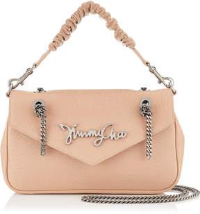 Jimmy Choo MOLLY Ballet Pink Grainy Leather Shoulder Bag