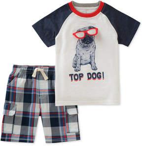 Kids Headquarters Little Boys 2-Pc. Graphic-Print T-Shirt & Shorts Set