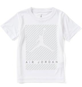 Jordan Little Boys 2T-7 Carbon Crew Neck Short-Sleeve Tee
