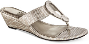 Impo Gretchen Wedge Thong Sandals Women's Shoes