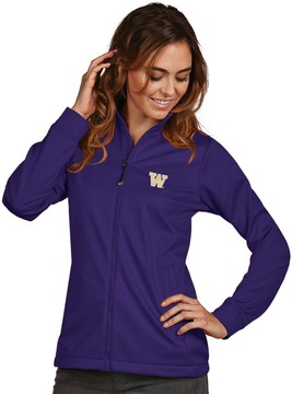 Antigua Women's Washington Huskies Waterproof Golf Jacket