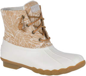 Sperry Saltwater Floral Duck Boot