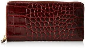 Cole Haan Loralie Continental Croco Wallet