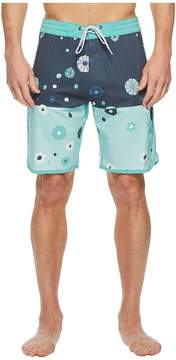 VISSLA Creators Heathered Four-Way Stretch Boardshorts 20 Men's Swimwear