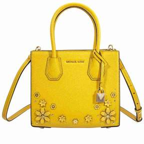 Michael Kors Mercer Medium Crossbody Bag- Sunflower - SUNFLOWER - STYLE