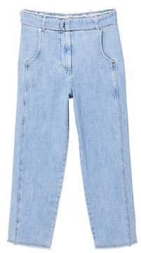 MANGO Belt relaxed jeans