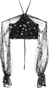 Alice McCall You're the One cropped blouse