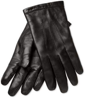 Charles Tyrwhitt Black Leather Gloves Size Large