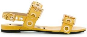 No.21 rivet detail sandals
