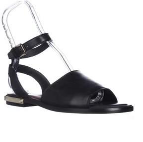 Dolce Vita Dacota Flat Gladiator Sandals, Black.