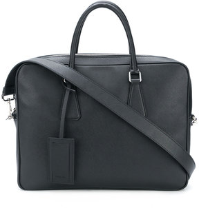 Prada top handles briefcase
