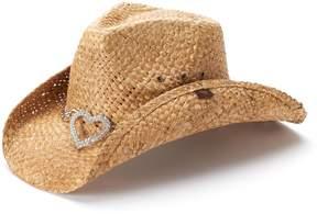 Peter Grimm Women's Straw Cowboy Hat