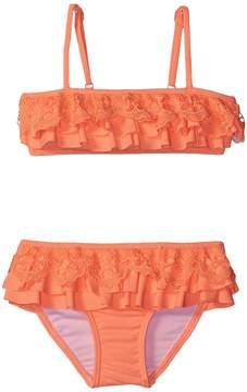 Seafolly Luau Lu Lu Mini Tube Bikini (Toddler/Little Kids)