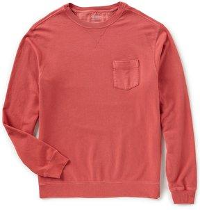 Roundtree & Yorke Trademark Long-Sleeve Solid Pocket Sweatshirt