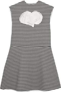 Awake Jellychess Fluted Gingham Woven Top
