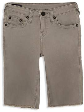 True Religion Boys' Frayed-Hem Geno Denim Shorts - Little Kid, Big Kid