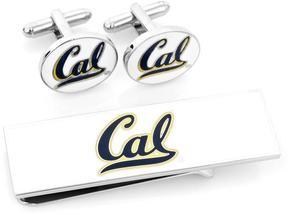 Ice U of California Bears Cufflinks and Money Clip Gift Set