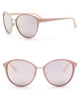 GUESS 58mm Cat Eye Sunglasses