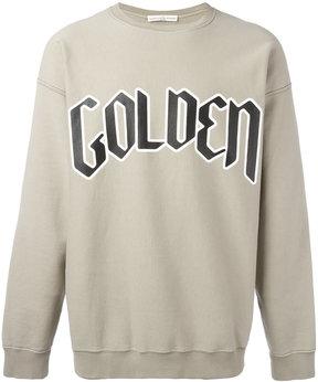Golden Goose Deluxe Brand typography branded sweatshirt