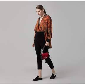 Amanda Wakeley   Clementine Printed Crepe De Chine Shirt   L   Multicolor