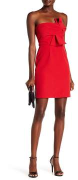 Alexia Admor Bow Tie Strapless Dress