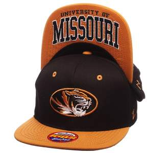 Zephyr Youth Missouri Tigers Undercard Snapback Cap